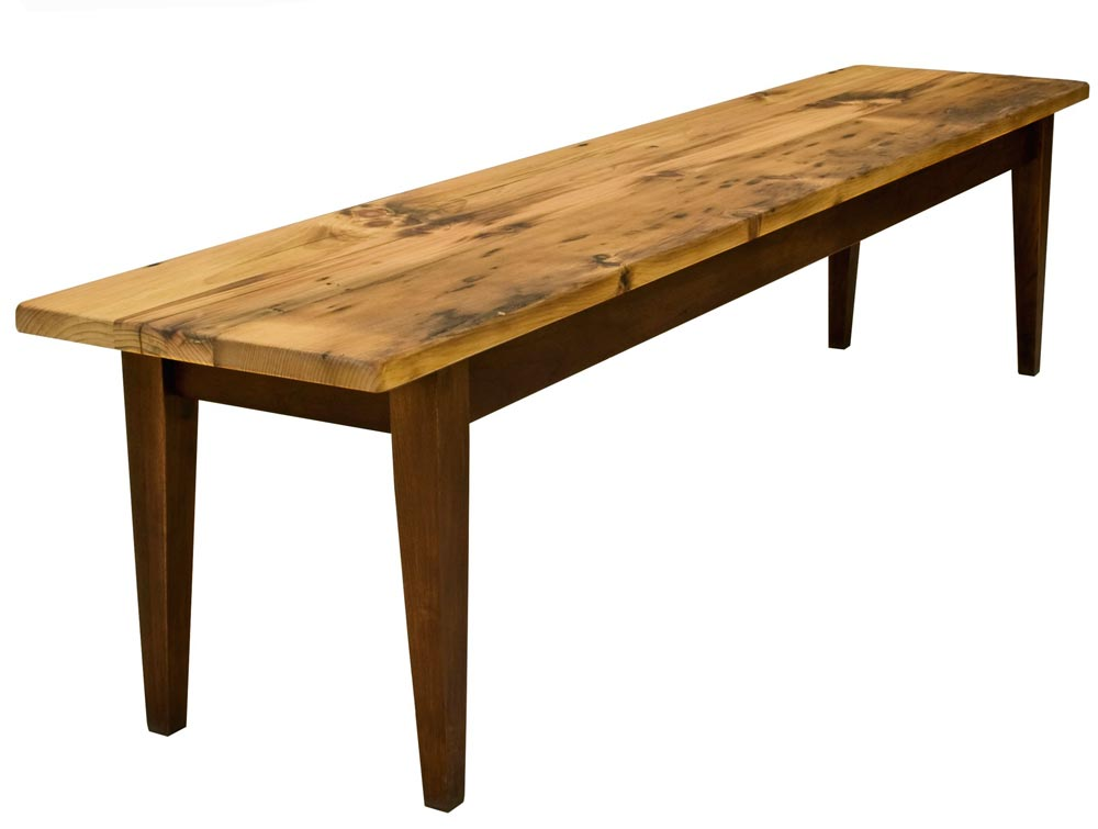 Reclaimed Barnwood Bench CLEARANCE