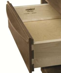 Under-mounted drawer glide