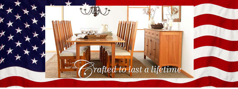 American Made Furniture | USA | Top Quality | Real Hardwood