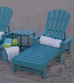 South Beach Adirondack Chaise