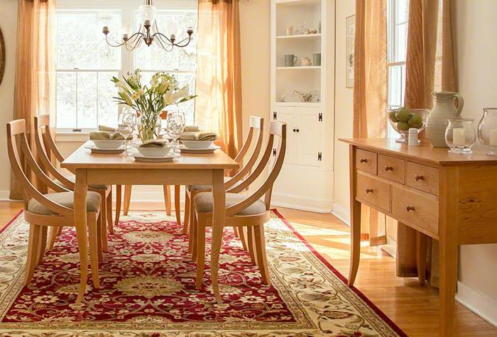 An Affordable LuxuryCustomize Your Wood Furniture   Vermont Woods Studios. Maple Wood Dining Room Furniture. Home Design Ideas