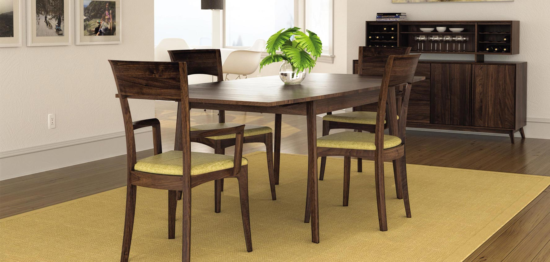 MidCentury Modern Dining Room Furniture Vermont Woods Studios