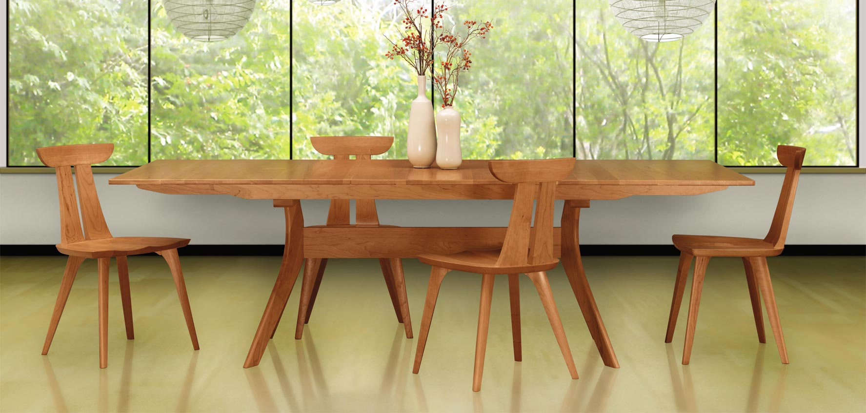 Picture of: Mid Century Modern Dining Chairs Vermont Woods Studios