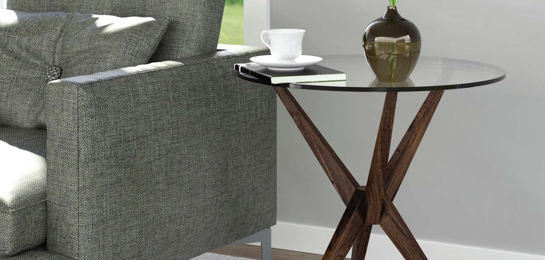 Mid-Century Modern Accent Tables - Vermont Woods Studios