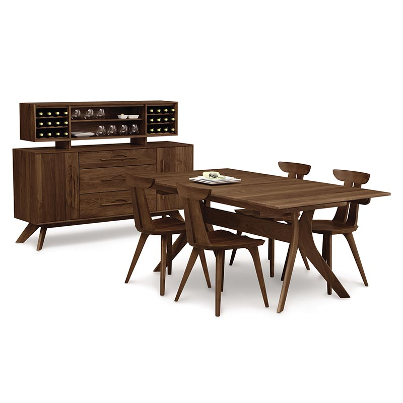 Audrey Walnut Dining Set