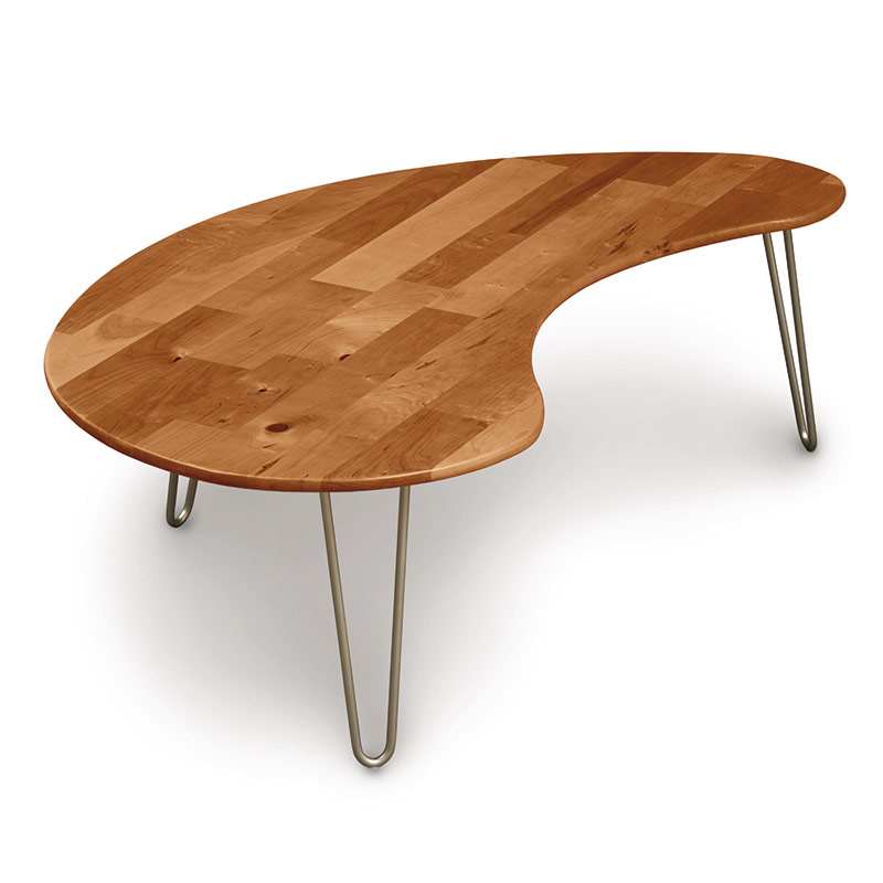 Essentials Cherry Kidney Coffee Table By Copeland
