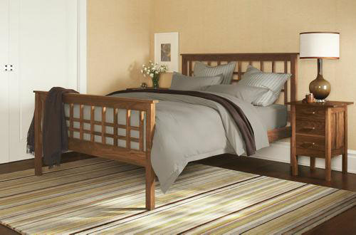 Craftsman Solid Wood Bed