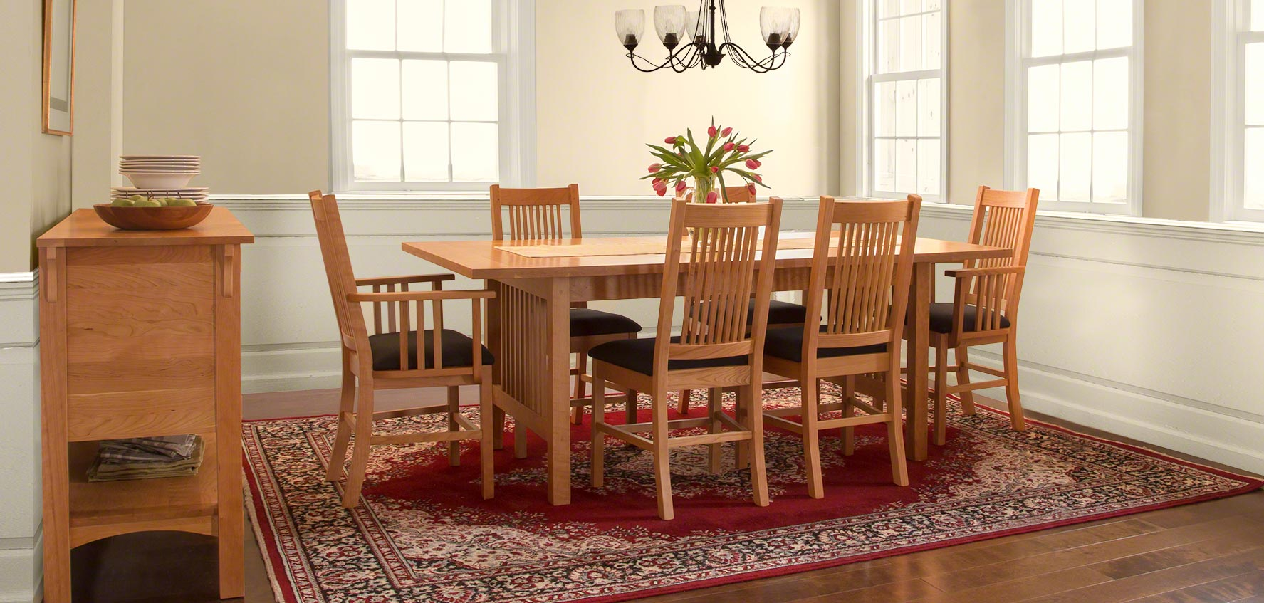 Wood Dining Tables Clearance Sale Vermont Woods Studios - Dining chairs and table clearance sale