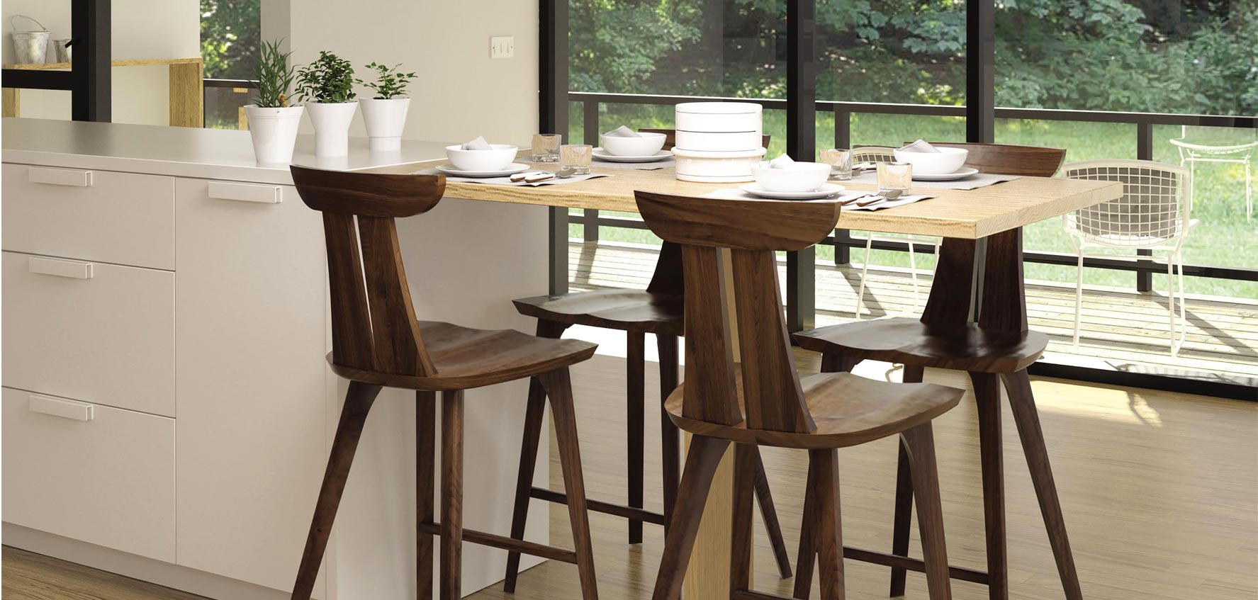 Modern Counter Chairs & Bar Stools