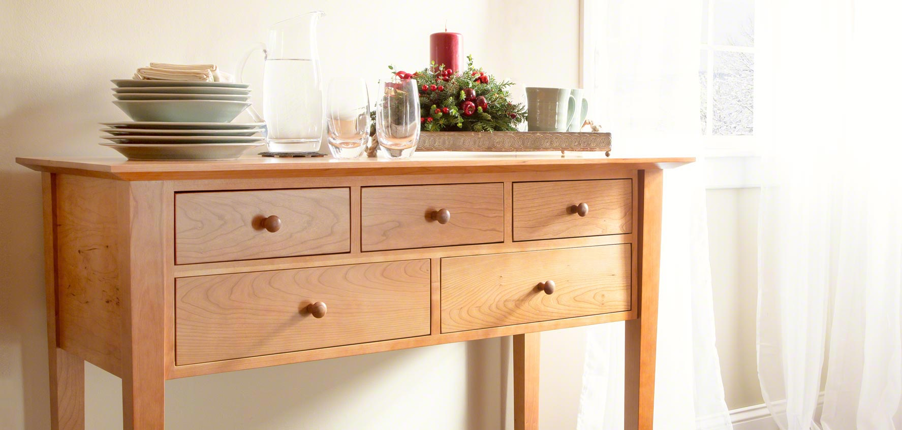 Solid Wood Sideboards Buffets Amp Hutches