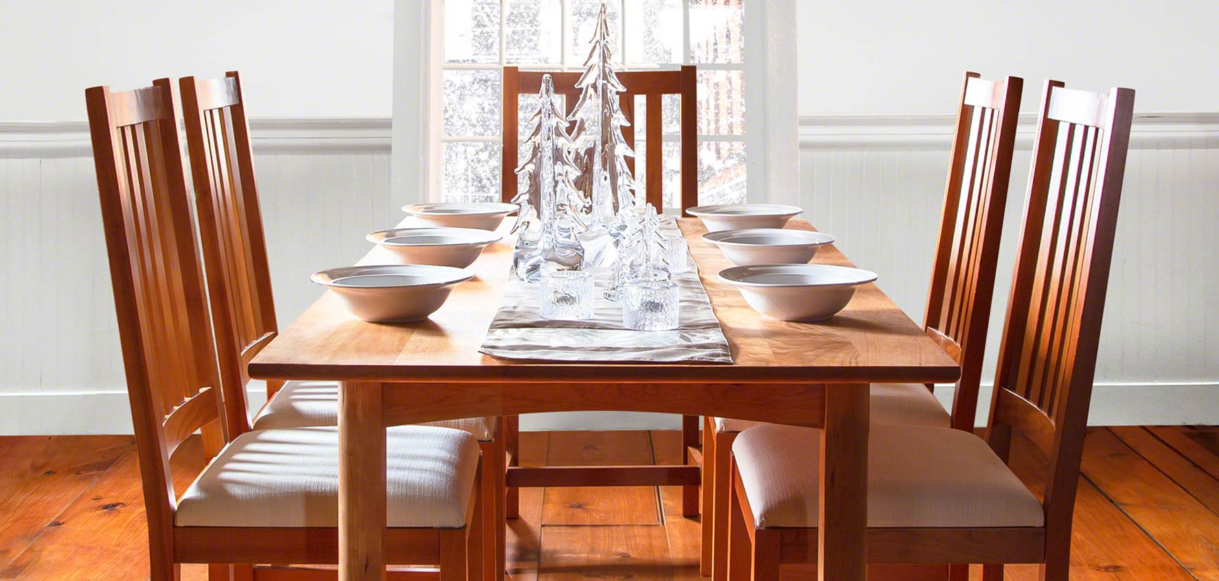 Handcrafted Wood Dining Chairs Vermont Woods Studios