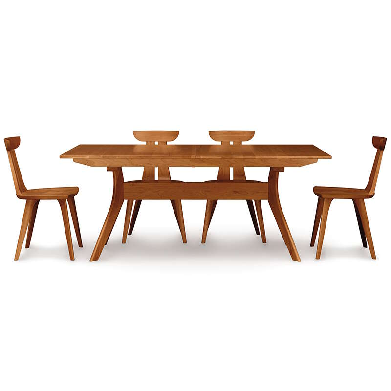 Copeland Audrey Cherry Extension Trestle Table Us Made