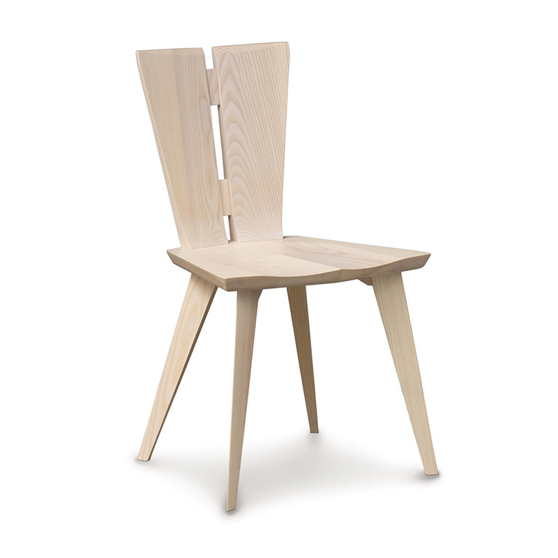 Axis Dining Chair  sc 1 st  Vermont Woods Studios & High Quality Ash Wood Axis Dining Chair | Copeland Furniture | USA Made