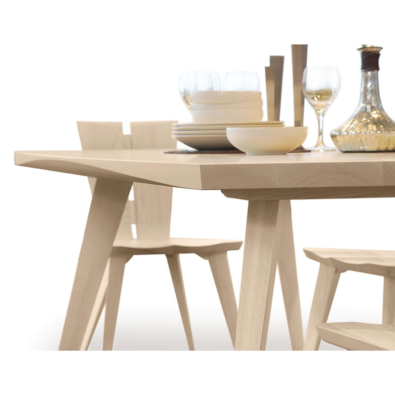 Axis Extension Dining Table Copeland Furniture Solid Ash Wood