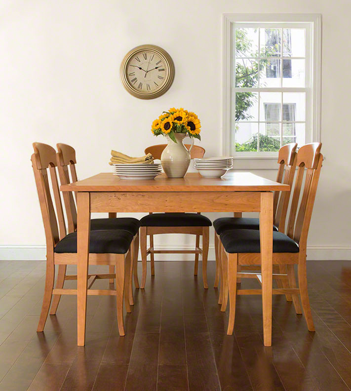 high end burlington dining chairs solid wood vermont woods studios
