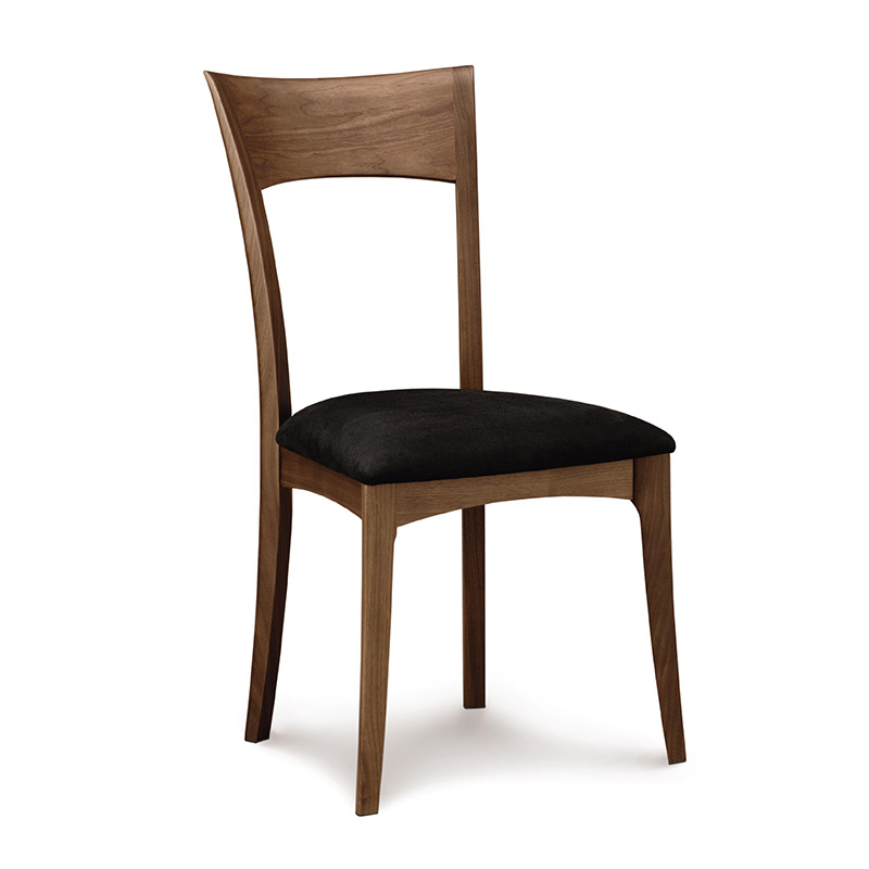 ingrid dining chairs | walnut wood | american made | mid-century