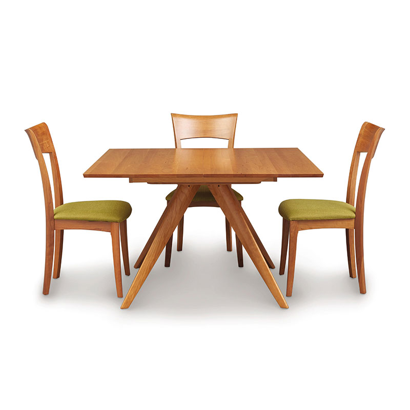 Catalina Cherry Square Extension Dining Table