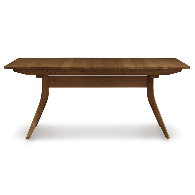 Catalina Walnut Trestle Extension Table