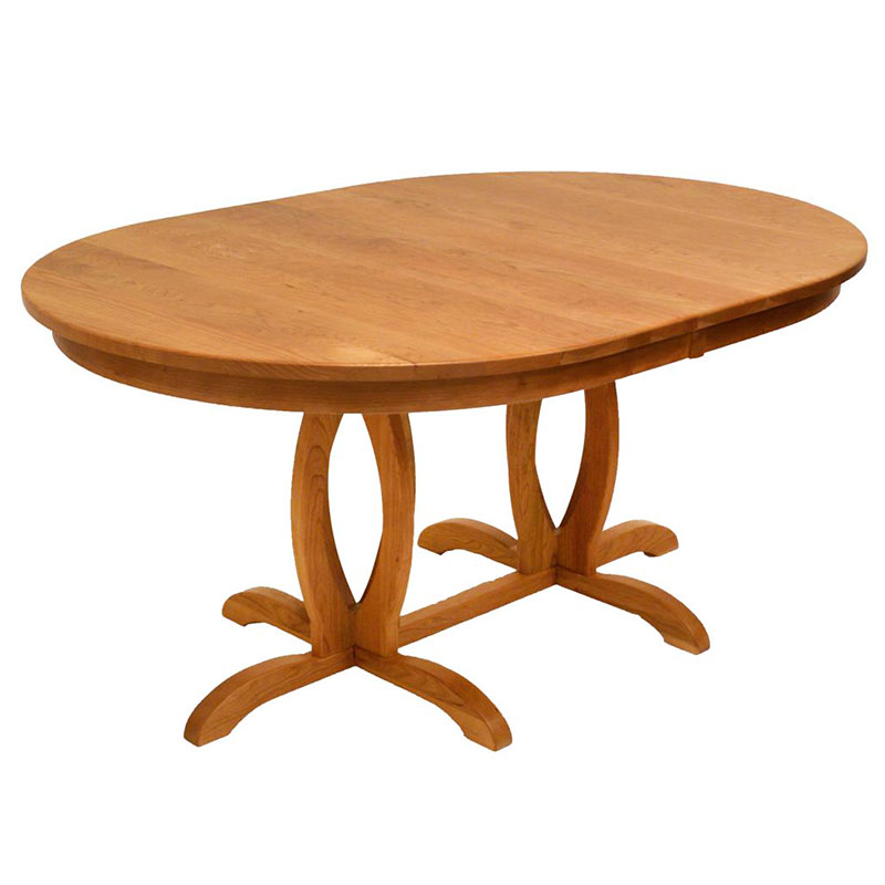 Good Cherry Blossom Double Pedestal Table