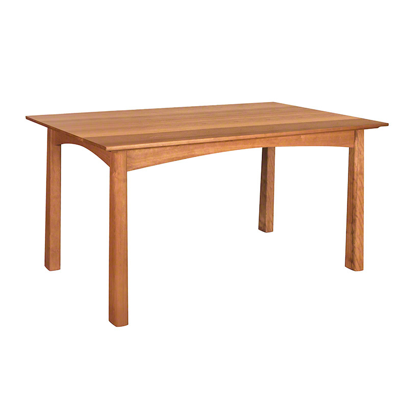 Cherry Moon Wood Dining Table American Made Dining Furniture Solid