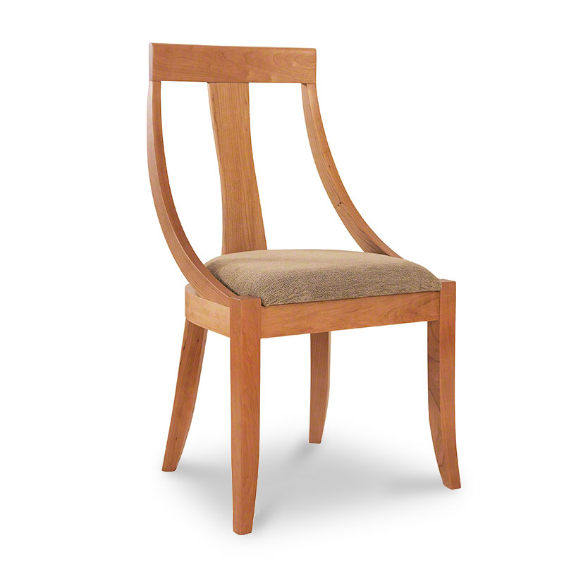 round back dining chair vermont woods studios french round back dining chairs cameo back upholstered chairs