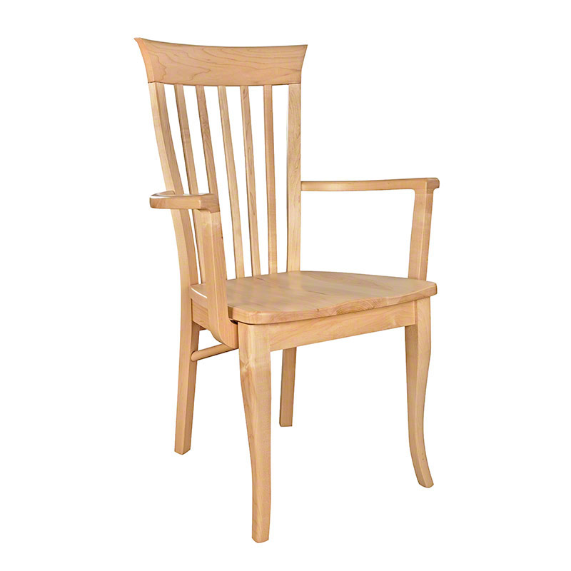 Classic Shaker Arm Chair #2 - Maple - Clearance