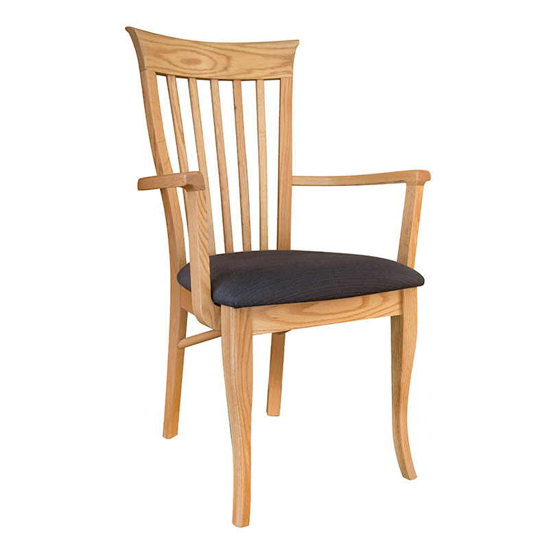 Classic Shaker Arm Chair #2 - Oak - Clearance