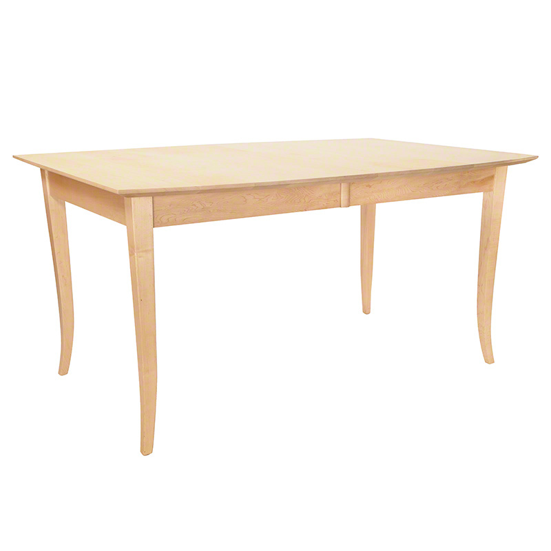 Classic Shaker Boat Top Extension Table - Maple - Clearance