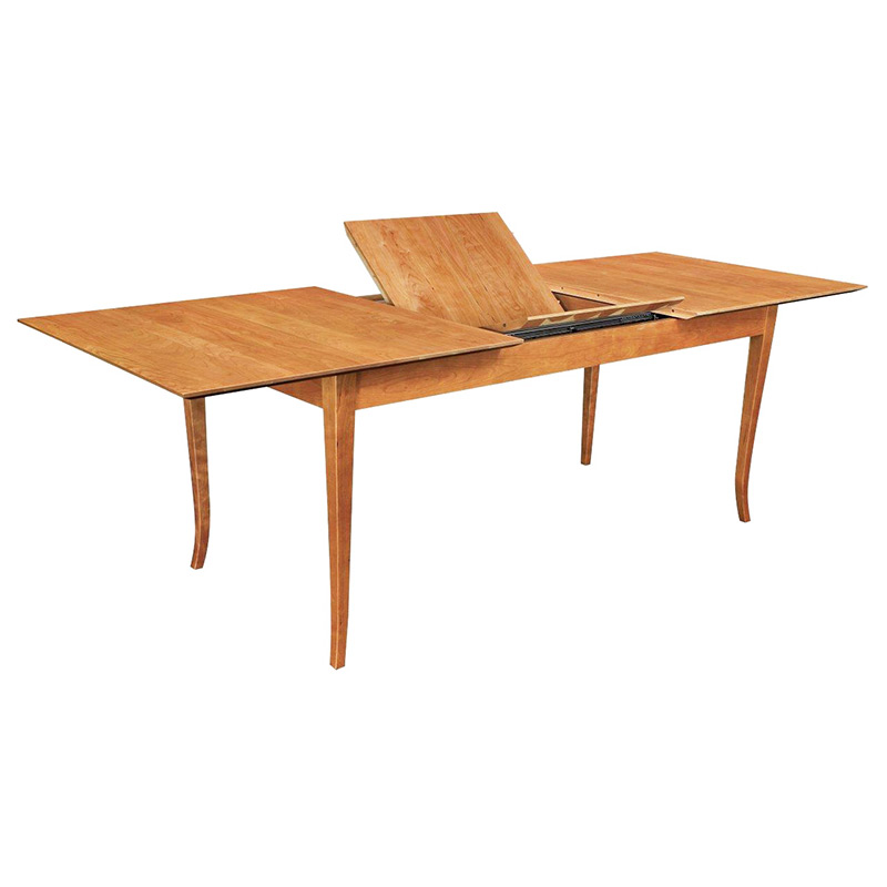 Solid Cherry Wood Extension Dining Table American Made