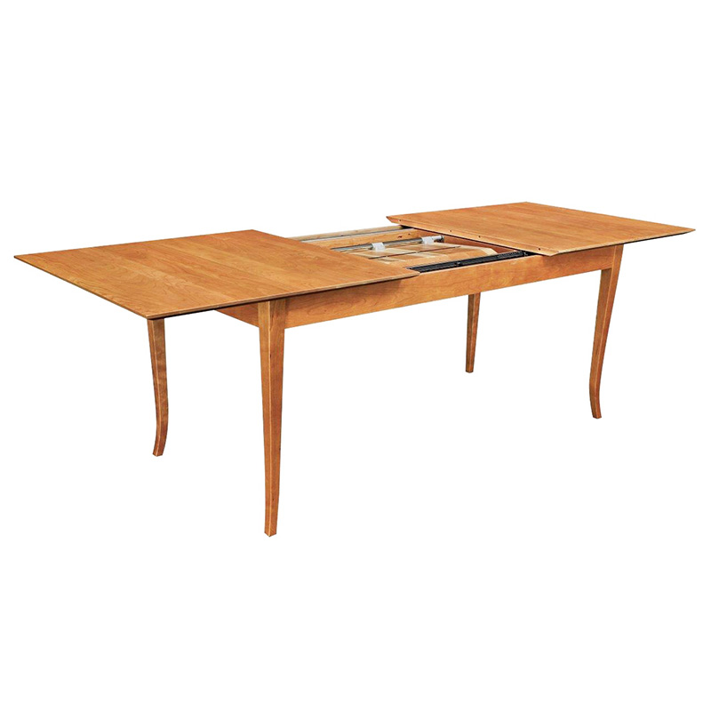 Classic Shaker Style Extension Table American Made Solid Wood Dining Furniture
