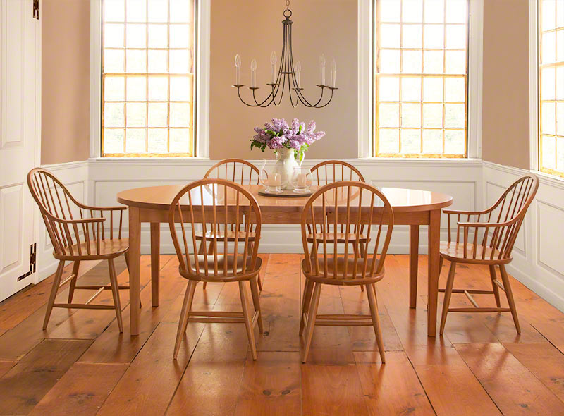 Contemporary Windsor Dining Chair, Windsor Dining Room