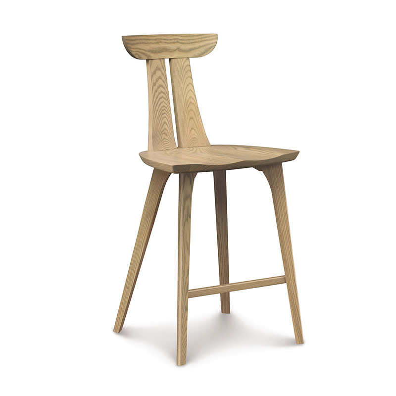 copeland estelle counter stool solid ash wood furniture