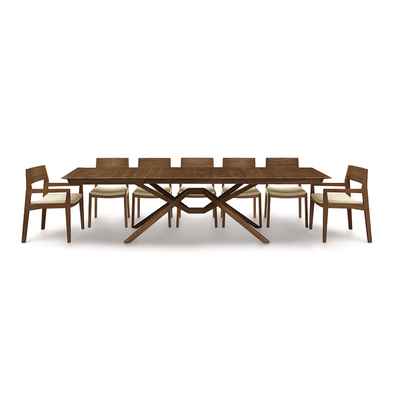 Exeter Walnut Extension Dining Table
