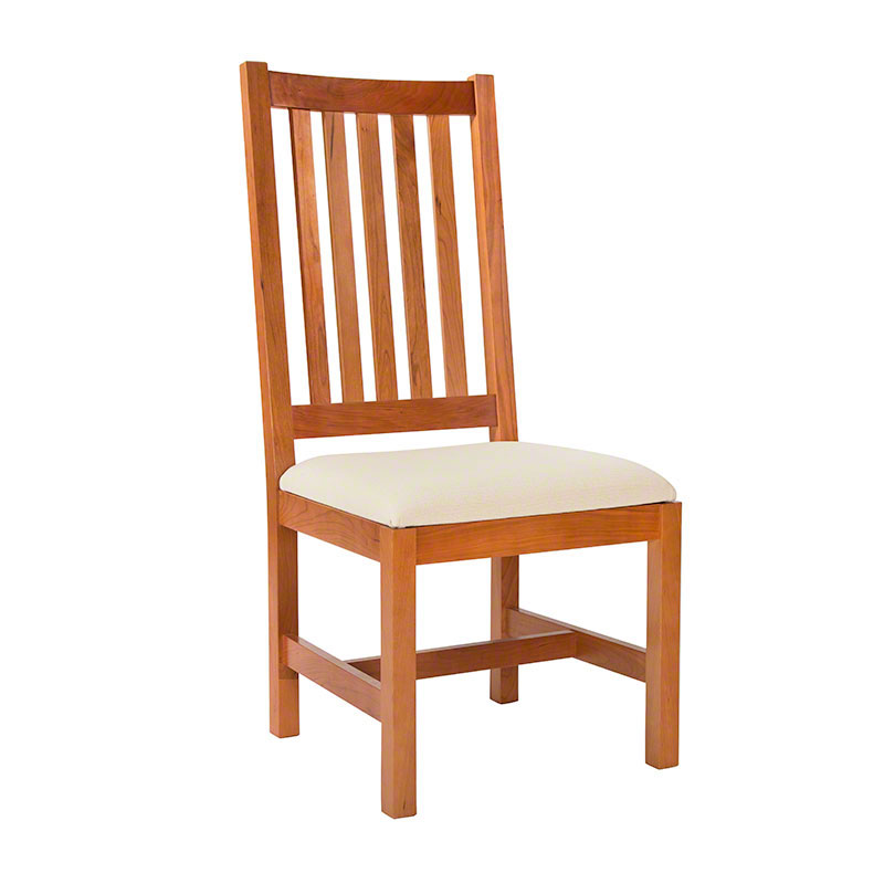 Grand Mission Dining Room Chair | Natural Cherry | Real Solid Wood