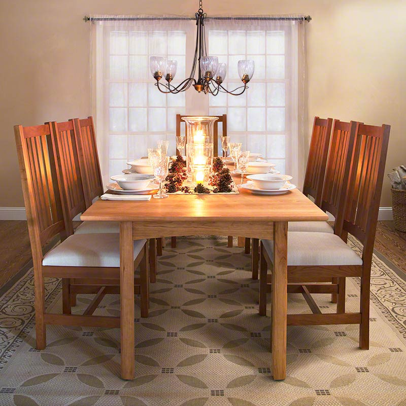 Grand Mission Dining Room Chair | Natural Cherry | Real ...