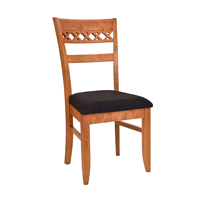 Lattice Back Dining Chair