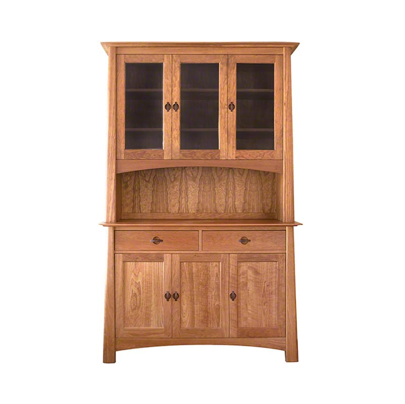 Mission & Craftsman China Cabinets - Vermont Woods Studios