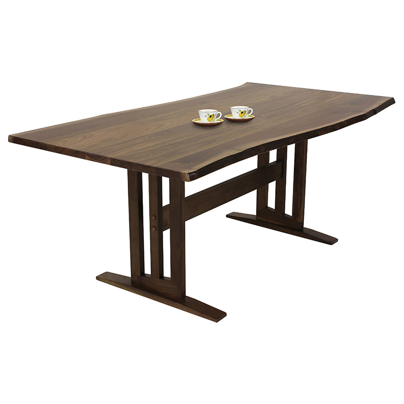 Modern Contemporary Trestle Table Live