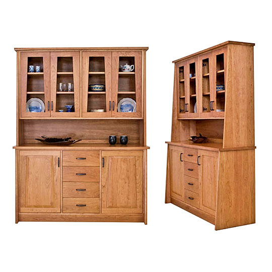 Modern Designer Buffet & Hutch - Modern Designer Buffet & Hutch Eco-Friendly, High-End Dining Sets
