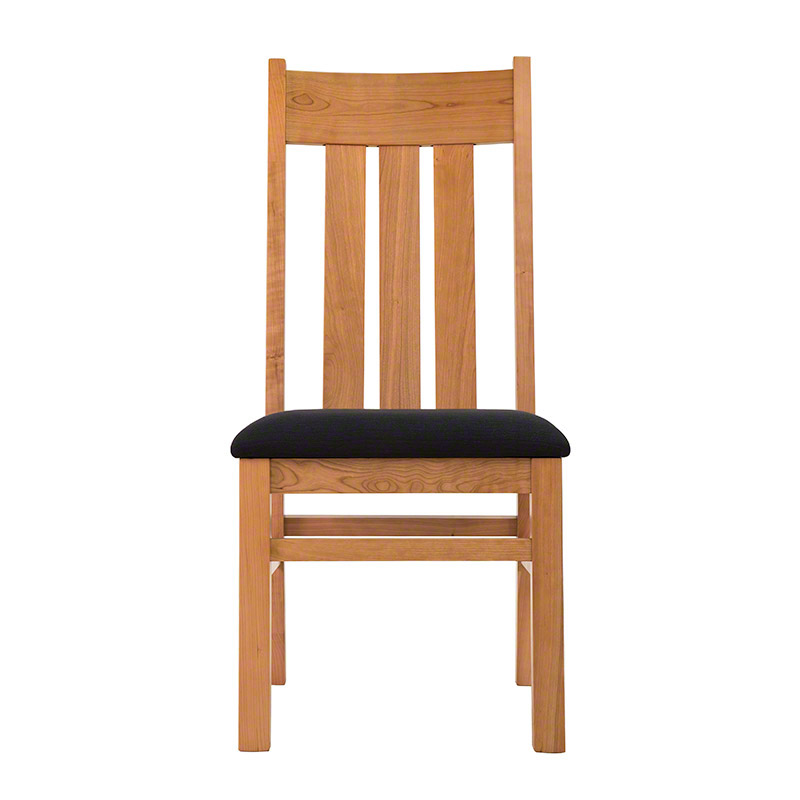 Modern Mission Dining Chair - Custom Chairs by Vermont Woods Studios