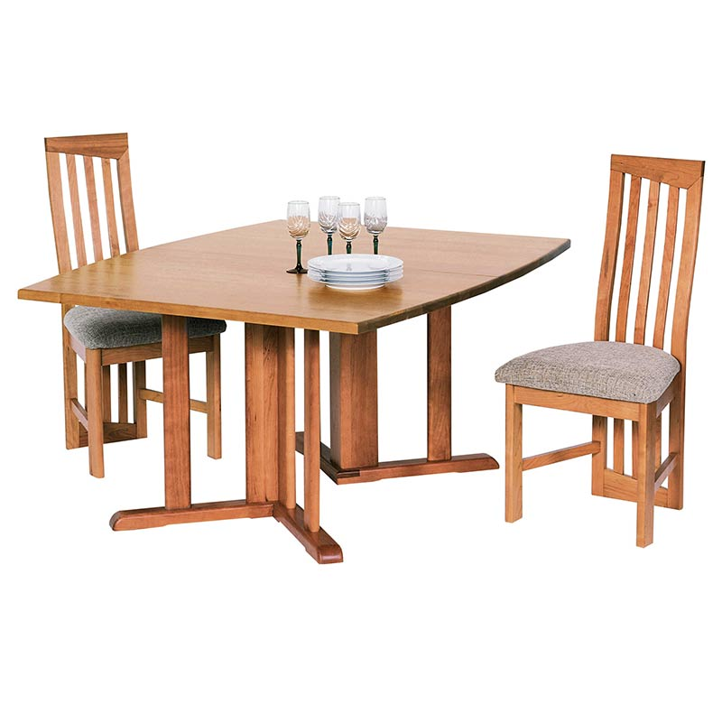 Modern Pedestal Dining Table Eco Friendly Boat Top Dining Tables