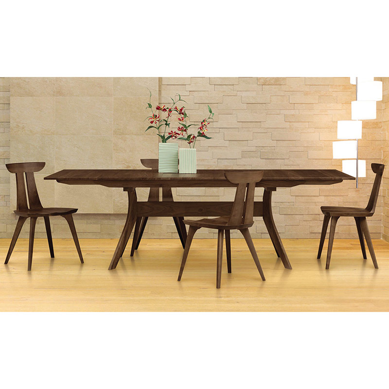 Audrey Walnut Extension Dining Table