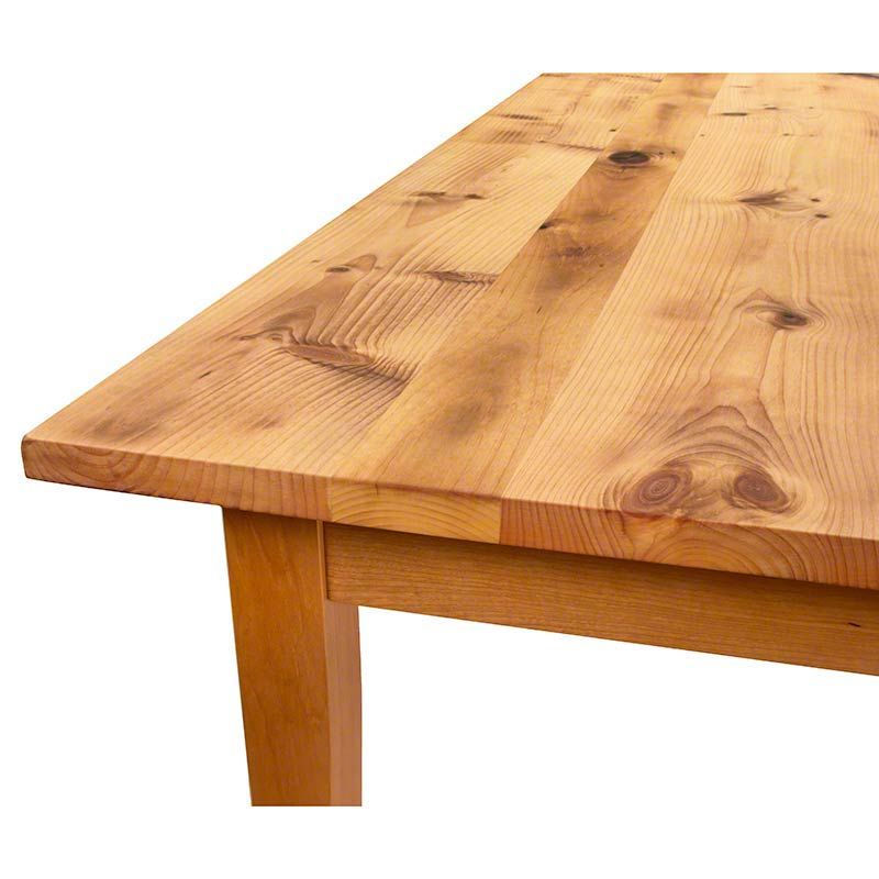 Reclaimed Barnwood Farm Table With Tapered Legs. Reclaimed Barnwood Farm Table With Tapered Legs   Hand Crafted in