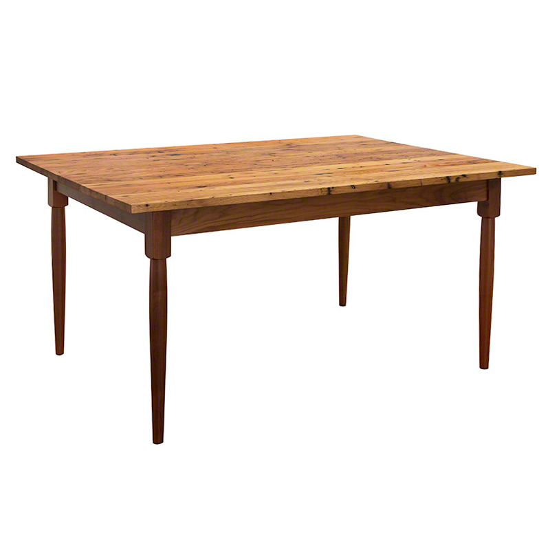 reclaimed barnwood farm dining table hand crafted in vermont