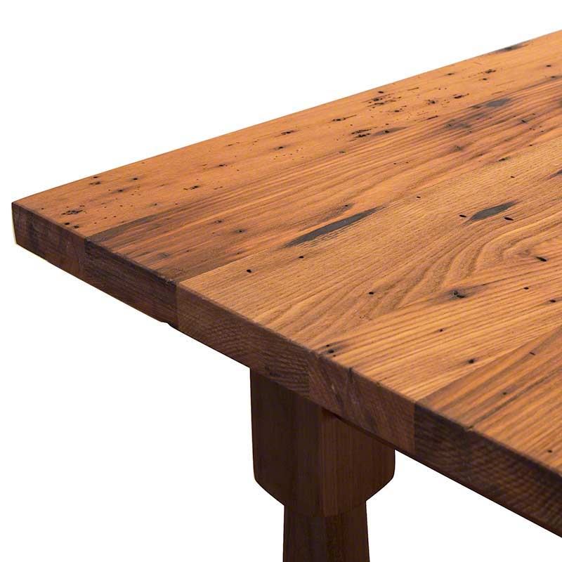 Reclaimed Barnwood Farm Dining Table Hand Crafted in Vermont : reclaimed barnwood farm table04 from vermontwoodsstudios.com size 800 x 800 jpeg 52kB