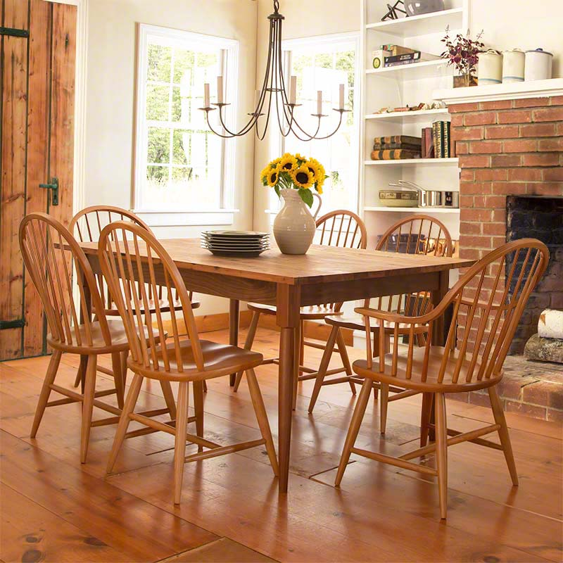 Reclaimed Barnwood Farm Dining Table Hand Crafted in Vermont : reclaimed barnwood farm table05 from vermontwoodsstudios.com size 800 x 800 jpeg 103kB