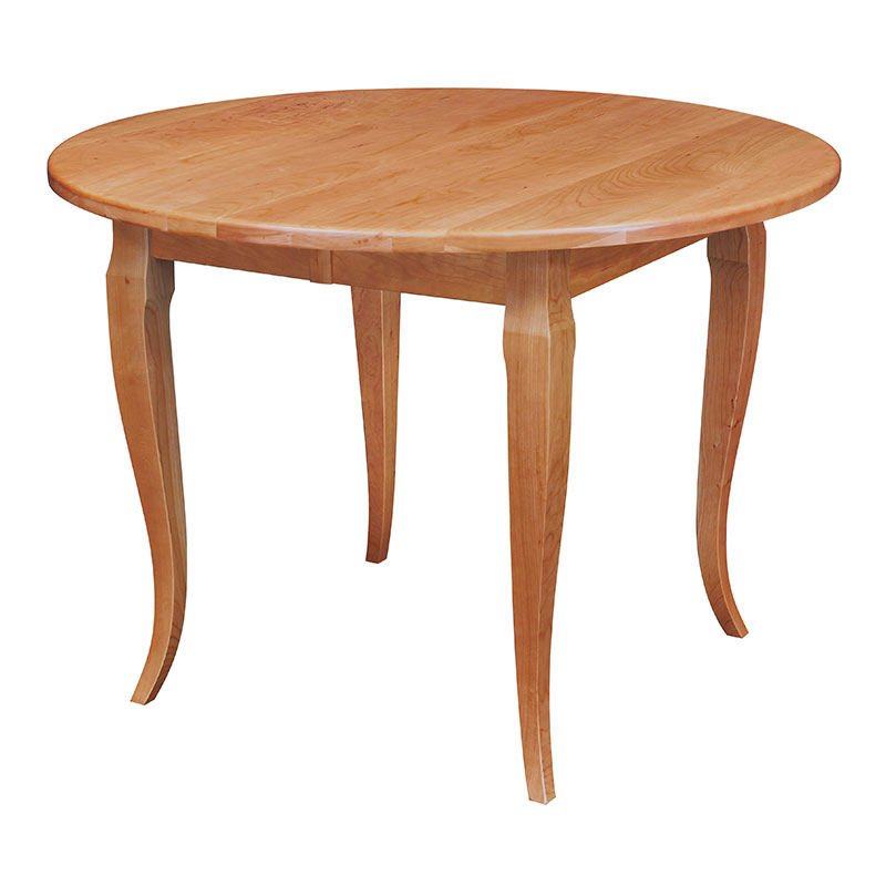Round French Country Table Made In America Solid Wood Table
