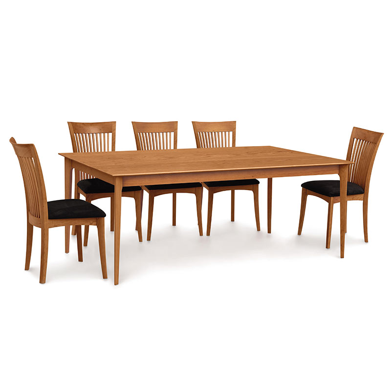 Sarah Shaker Solid Top Cherry Table