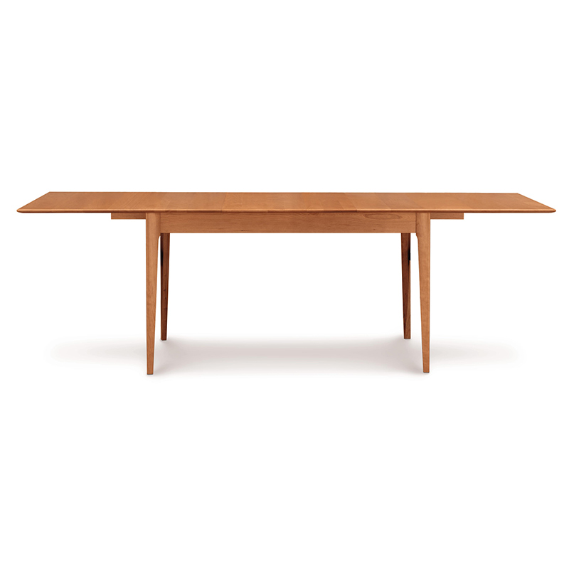 Sarah Shaker Tapered Leg Extension Table