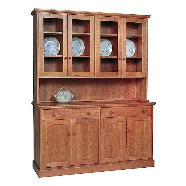 New England Shaker Buffet & Hutch
